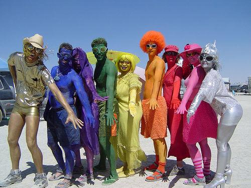 Все цвета радуги